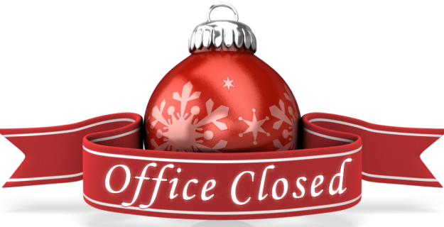 christmas new year closure notice